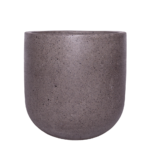 Sticks and Stones Outdoor - U-Shaped Pot Natural Unpainted