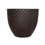 Sticks and Stones Outdoor - Diamond Pot Matte Black
