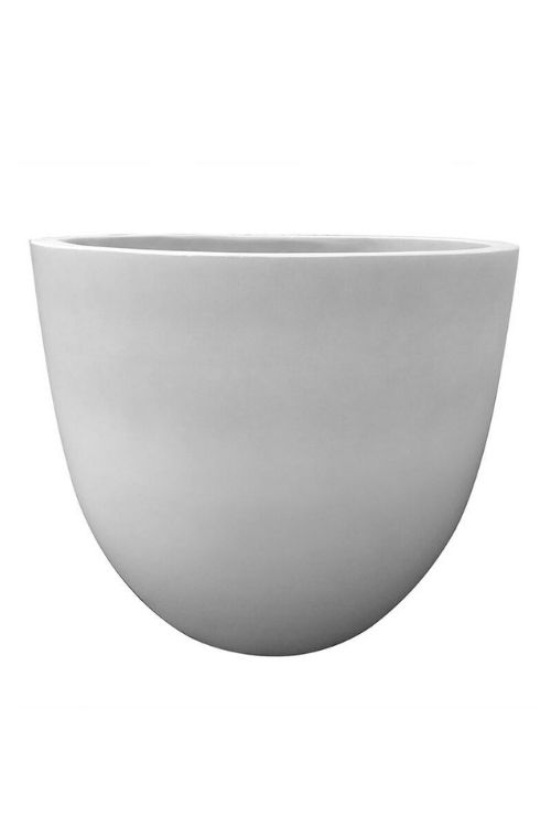 white egg pot