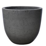 natural cement egg pot