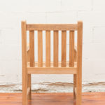 Sticks and Stones Outdoor - Plantation Teak Dining Armchair back