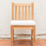 Sticks and Stones Outdoor - Teak Cushion White