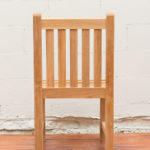 Sticks and Stones Outdoor - Plantation Teak Dining (Armless) Chair back