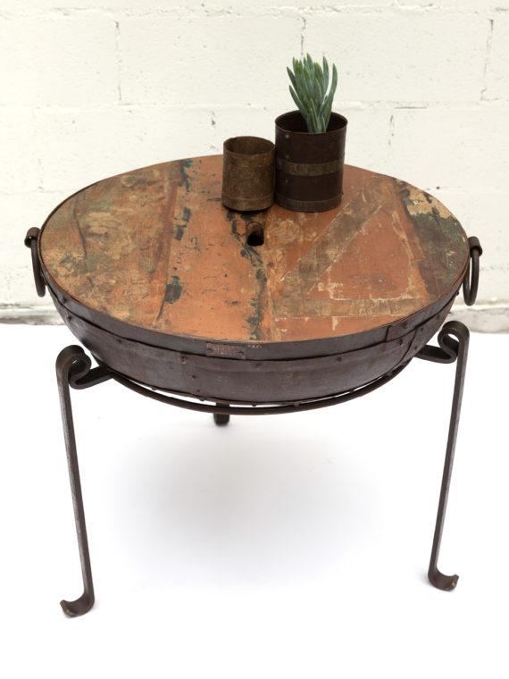 Sticks and Stones Outdoor - Kadai Wooden Lid