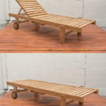Sticks and Stones Outdoor - Plantation Teak Sunlounger