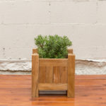 Sticks and Stones Outdoor - Plantation Teak Square Planter Box Small