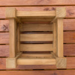 Sticks and Stones Outdoor - Plantation Teak Square Planter Box