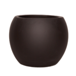 Sticks and Stones Outdoor - Globe Pot Matte Black