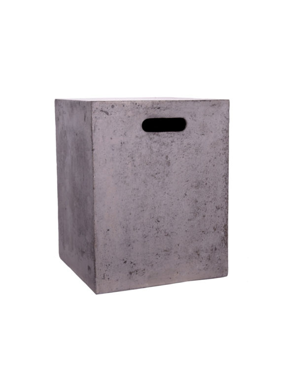Sticks and Stone Outdoor - Lightweight Concrete Stool