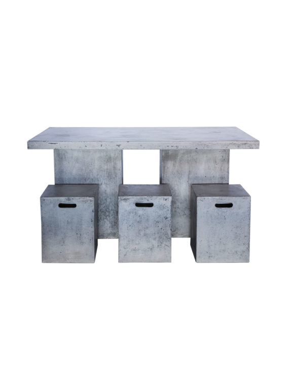 Sticks and Stones Outdoor - Lightweight Concrete Medium Table