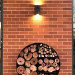 Fire Wheel Wood Stacker